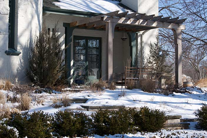 Winter shows the importance of structure, and how beautiful a well-designed garden can be even when nothing's in bloom.