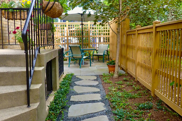 Claiming Wasted Space for a Pocket Garden